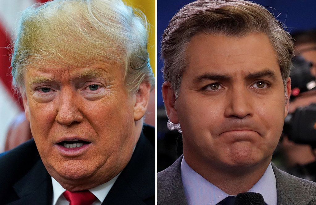 Trump Promoted His Rally With A Photo He May Have Lifted From CNN's Jim Acosta