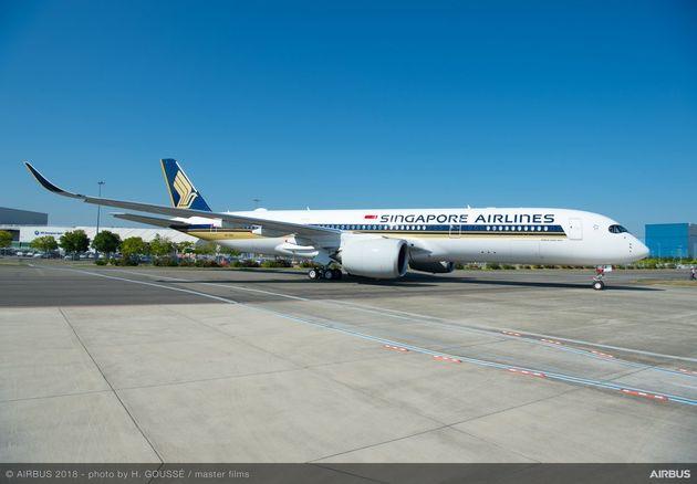 오늘 밤, 싱가포르항공이 세계에서 가장 긴 직항 항공편을