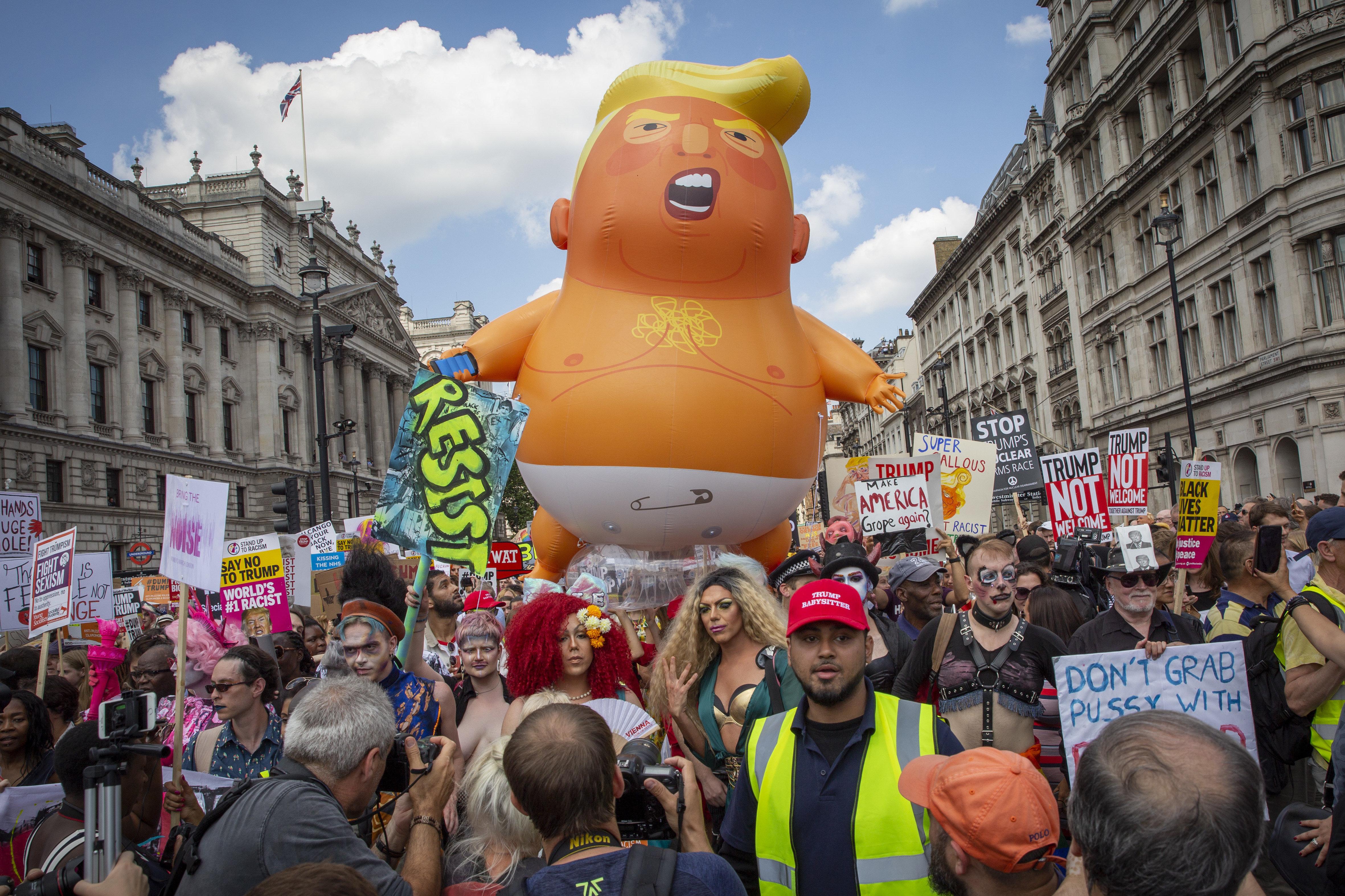 Donald Trump's UK Visit Cost You £18