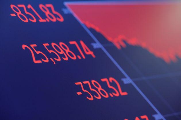Πτώση στα ευρωπαϊκά χρηματιστήρια, μετά τα αμερικανικά και τα