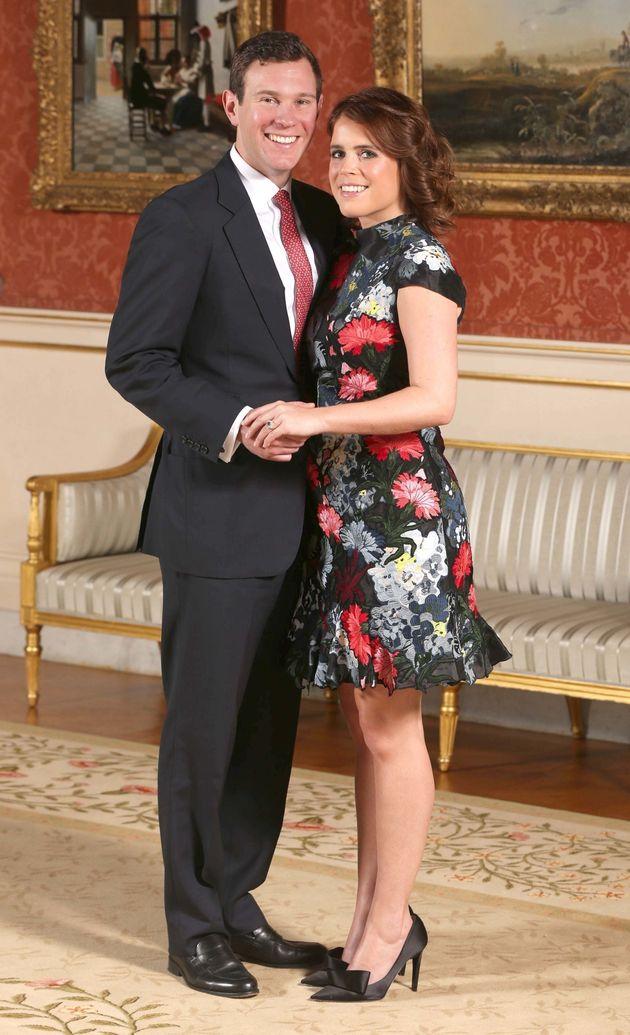 Princess Eugenie and Jack Brooksbank.