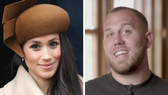Meghan, Duchess of Sussex, and Tyler Dooley.