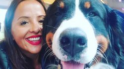 Comedian Luisa Omielan: 'My Emotional Support Dog Bernie Saved My