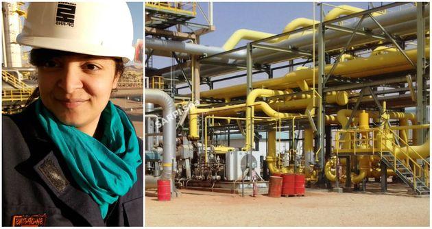 Portrait- Sarah Bouzid, ingénieur à la Sonatrach: le leadership dans la