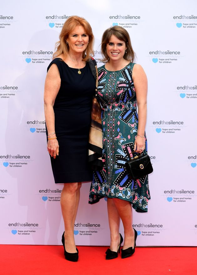 Princess Eugenie with her mother Sarah