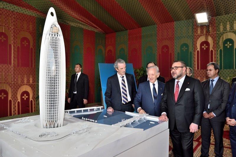 Rabat: La tour BMCE Bank of Africa de 250 mètres de haut achevée en
