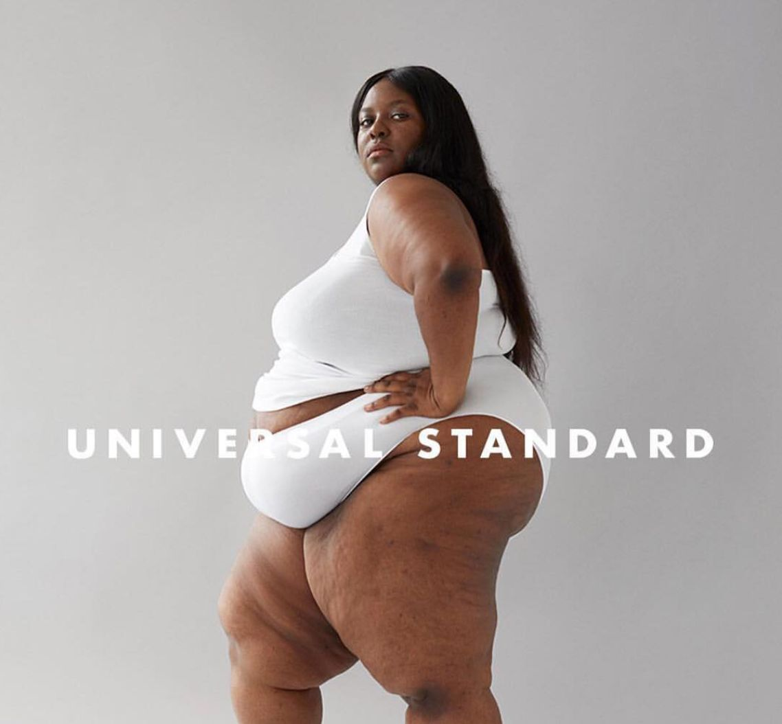 This Size 24 Model Was 'Terrified' Of An Underwear Photo Shoot. The Results Are Extraordinary.