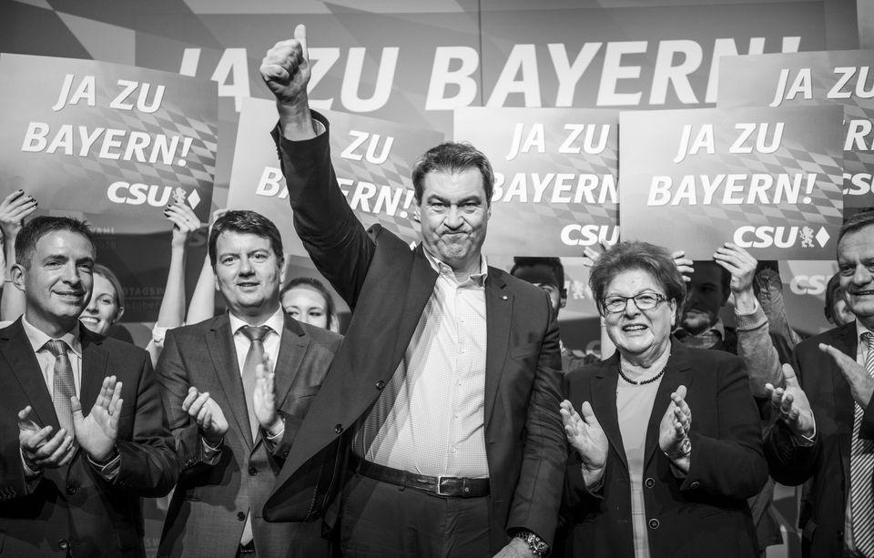 Markus Söder könnte ein historisch schlechtes CSU-Ergebnis