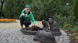 Russian Woman Is Hired As Her Town's Cat