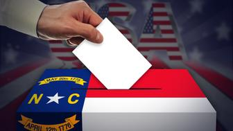 Election Day in the United States of America, NORTH CAROLINA