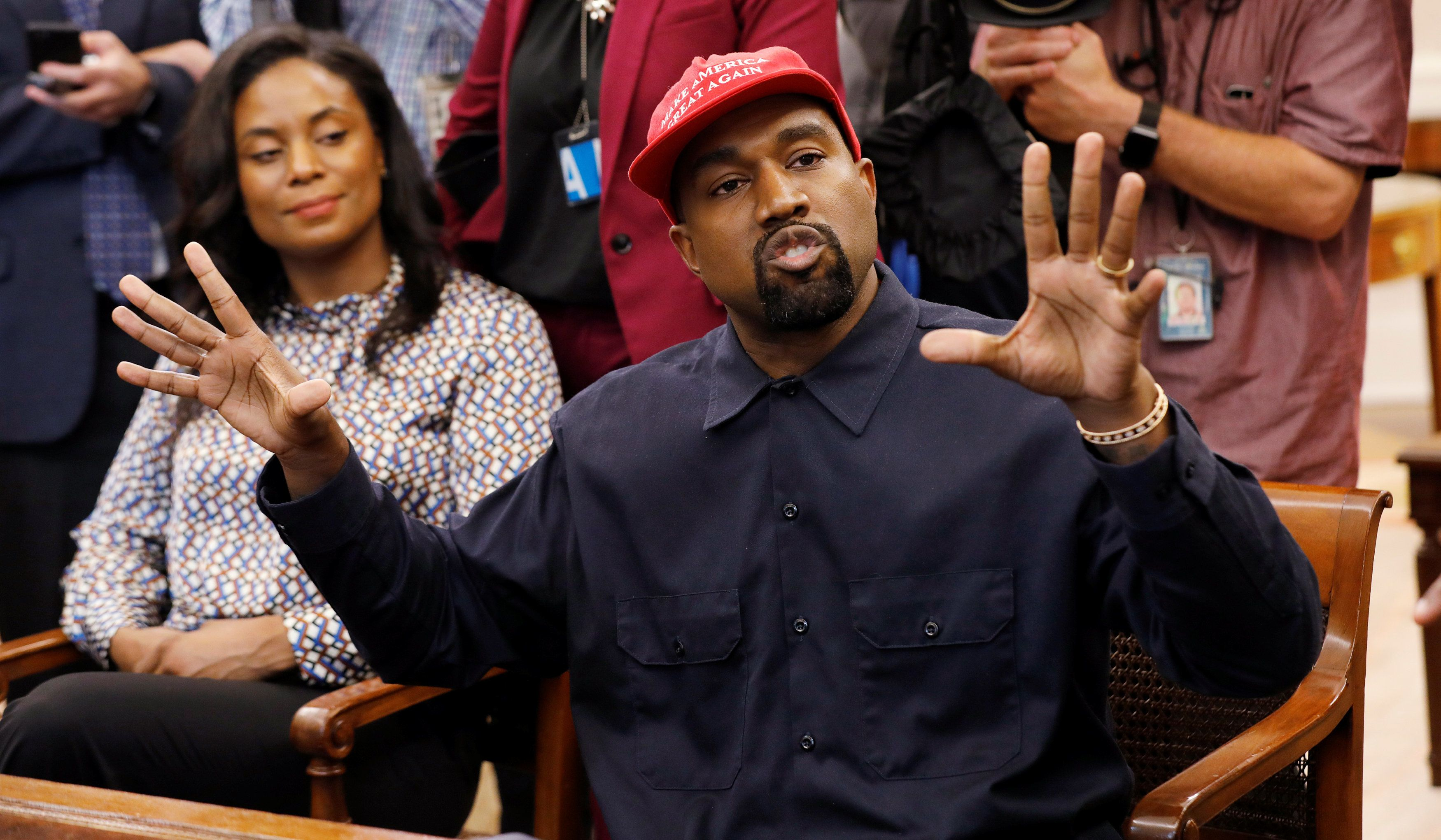 Here Are Some Of The Wild Things Kanye West Said To Donald Trump At The White