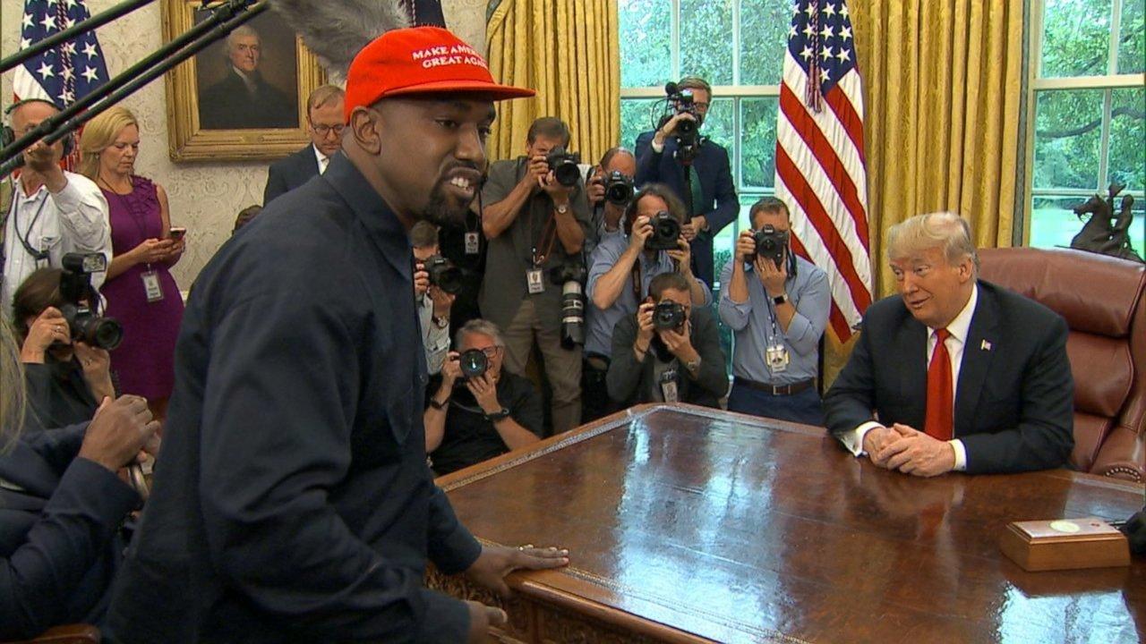 Even Donald Trump Was Taken Aback By Kanye West's 'Motherf**ker' Oval Office