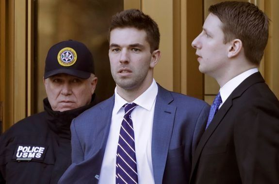 Billy McFarland, the organizer behind last year's disastrous Fyre Festival in the Bahamas, was sentenced on Thursday to