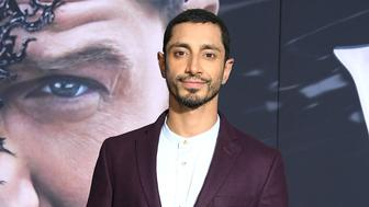 WESTWOOD, CA - OCTOBER 01:  Riz Ahmed arrives at the Premiere Of Columbia Pictures' 'Venom'  at Regency Village Theatre on October 1, 2018 in Westwood, California.  (Photo by Steve Granitz/WireImage)