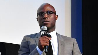 NEW YORK, NEW YORK - OCTOBER 09: Barry Jenkins speaks onstage at the 'If Beale Street Could Talk' U.S. premiere Q&A during the 56th New York Film Festival at The Apollo Theater on October 09, 2018 in New York City. (Photo by Dia Dipasupil/Getty Images)