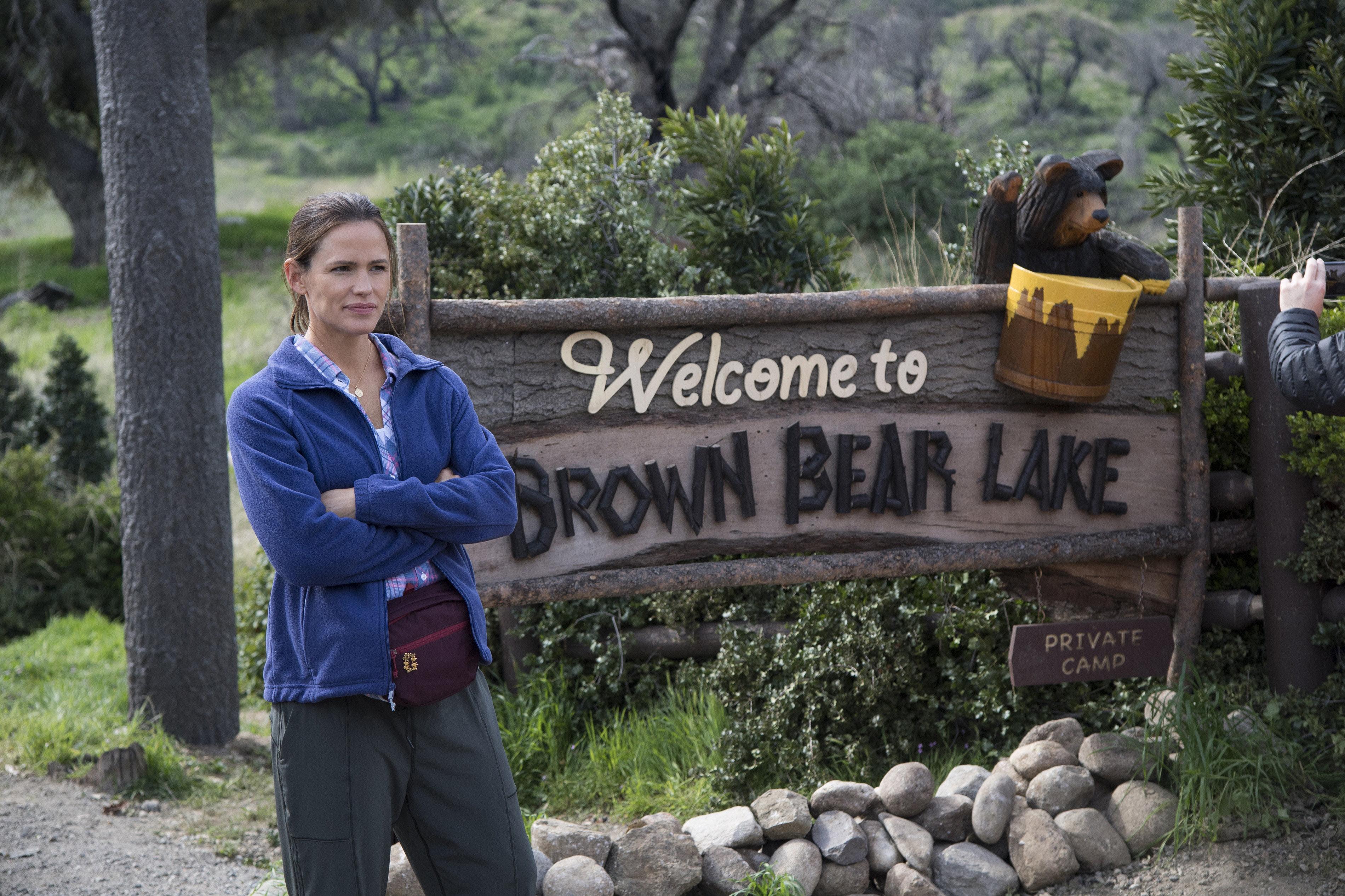 "Jennifer Garner stars in ""Camping."""