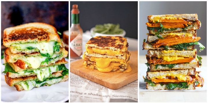 Healthy Grilled Cheese Sandwich Recipes That Taste Amazing Huffpost Life