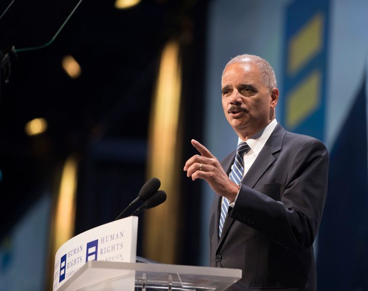"""When they go low, we kick them,"" former Attorney General Eric Holder said last week."