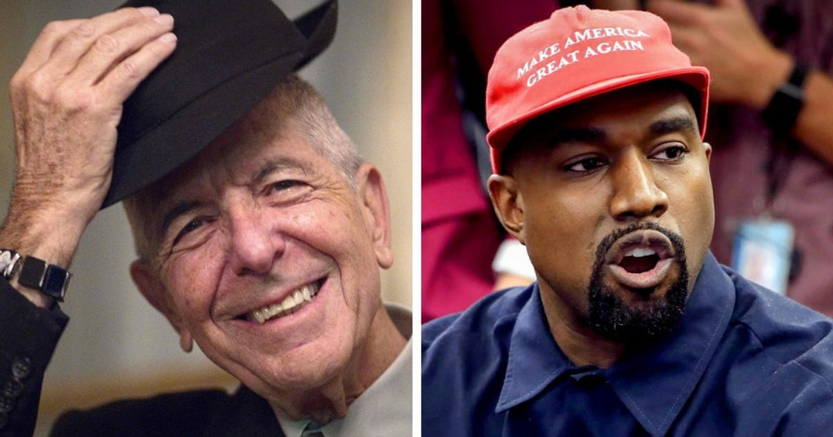 People Are Calling Leonard Cohen Poem About Kanye West A Diss From Beyond The Grave
