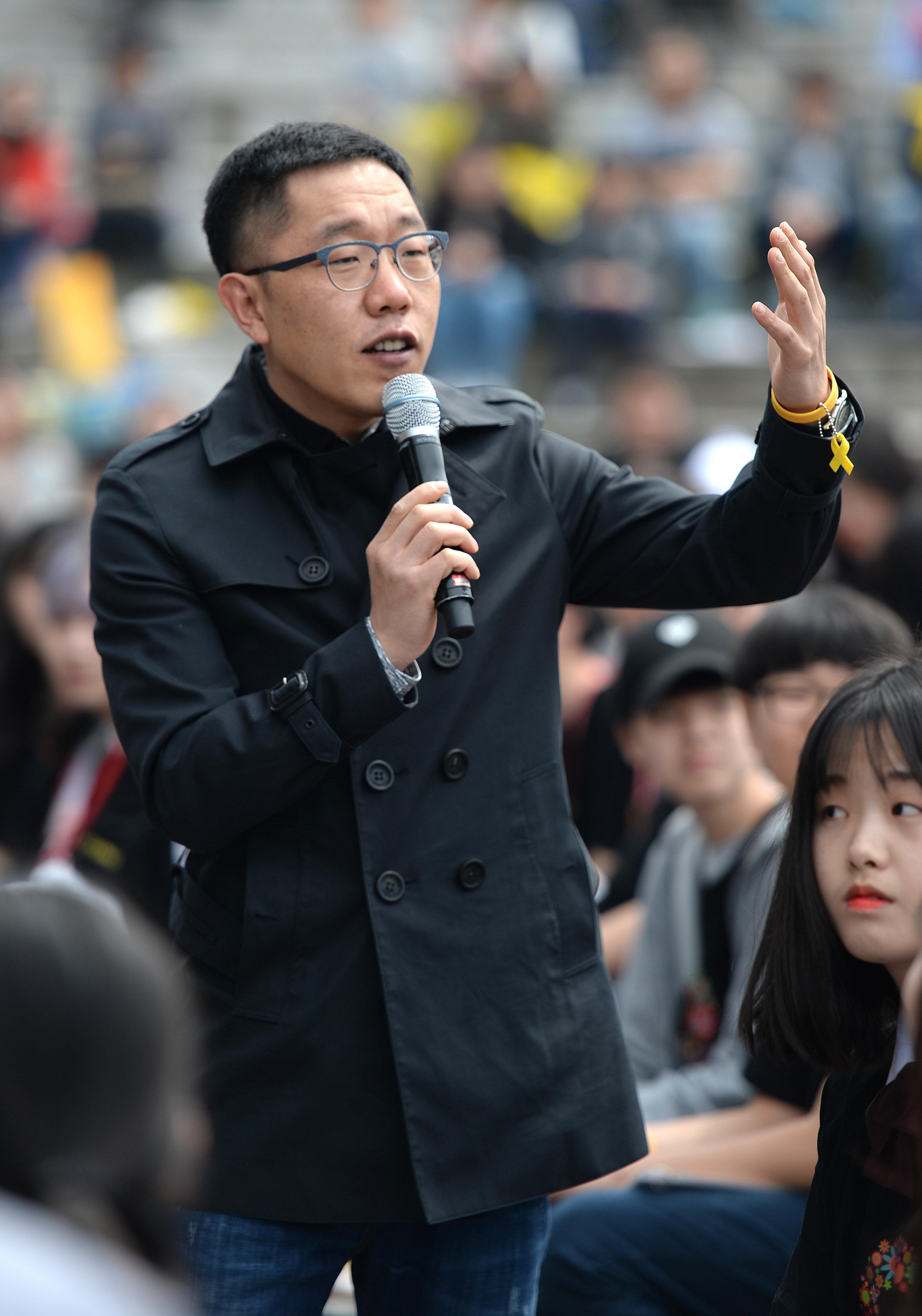 고액 출연료 논란에 대해 김제동이 입장을