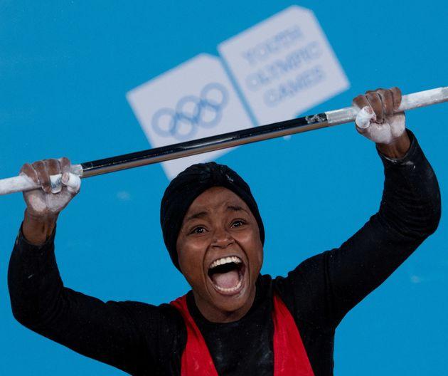 Ghofrane Belkhir offre à la Tunisie sa première médaille d'or aux Jeux Olympiques de la Jeunesse 2018...