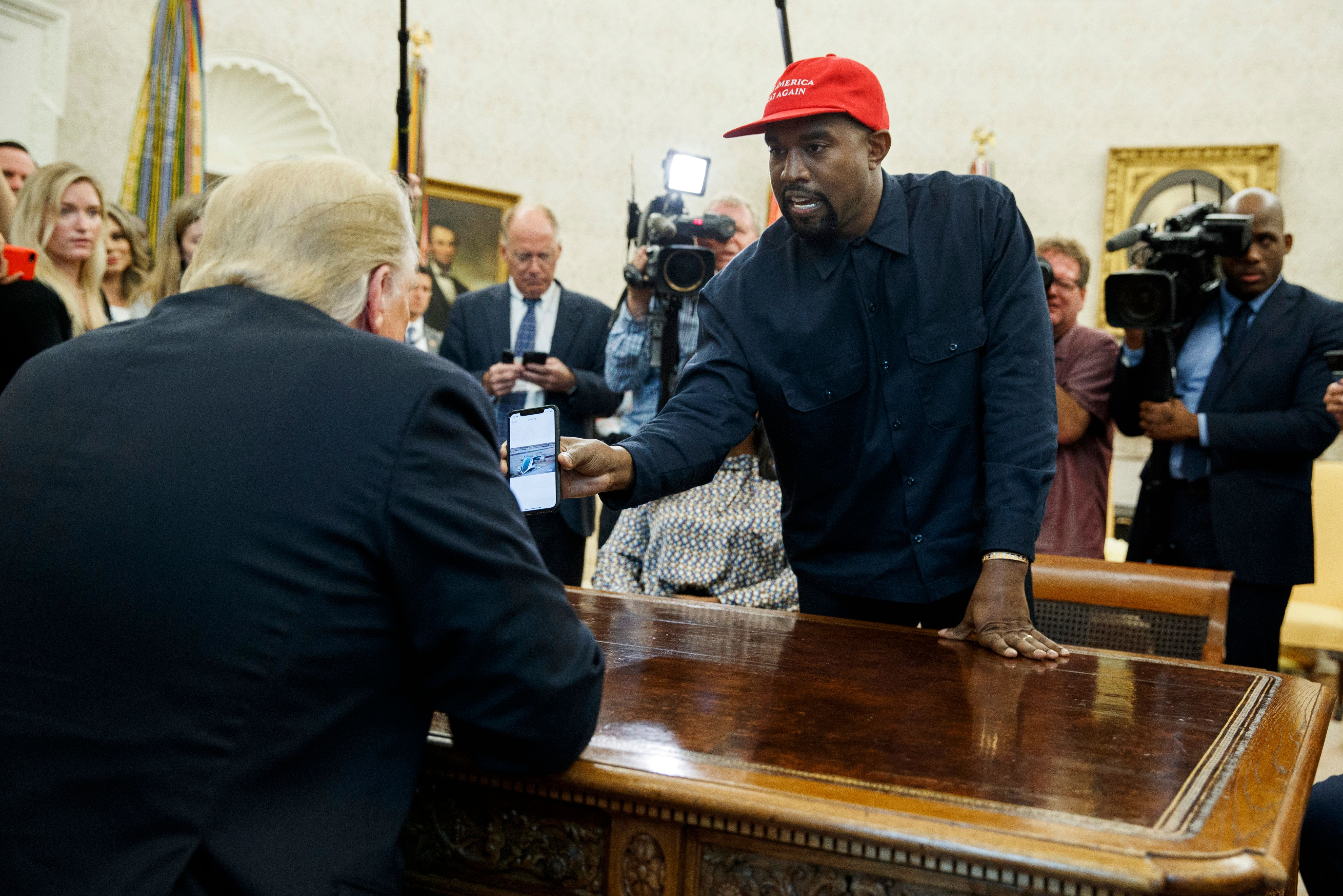 Donald Trump's Wild Meeting With Kanye West Sparks Even Wilder 'Photoshop Battle'