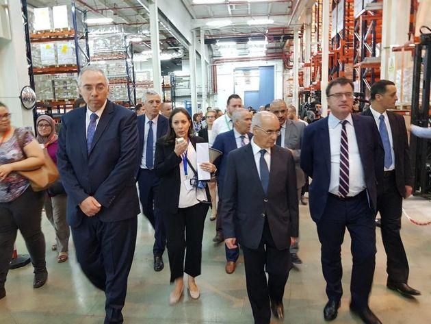 Inauguration de l'usine Sanofi