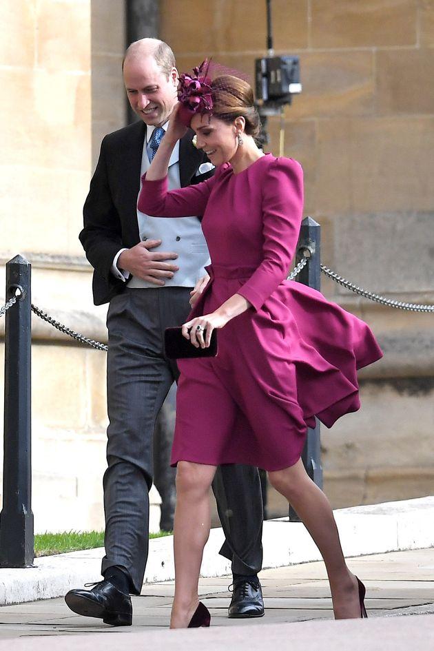 Royal Wedding Gatecrashed By Storm