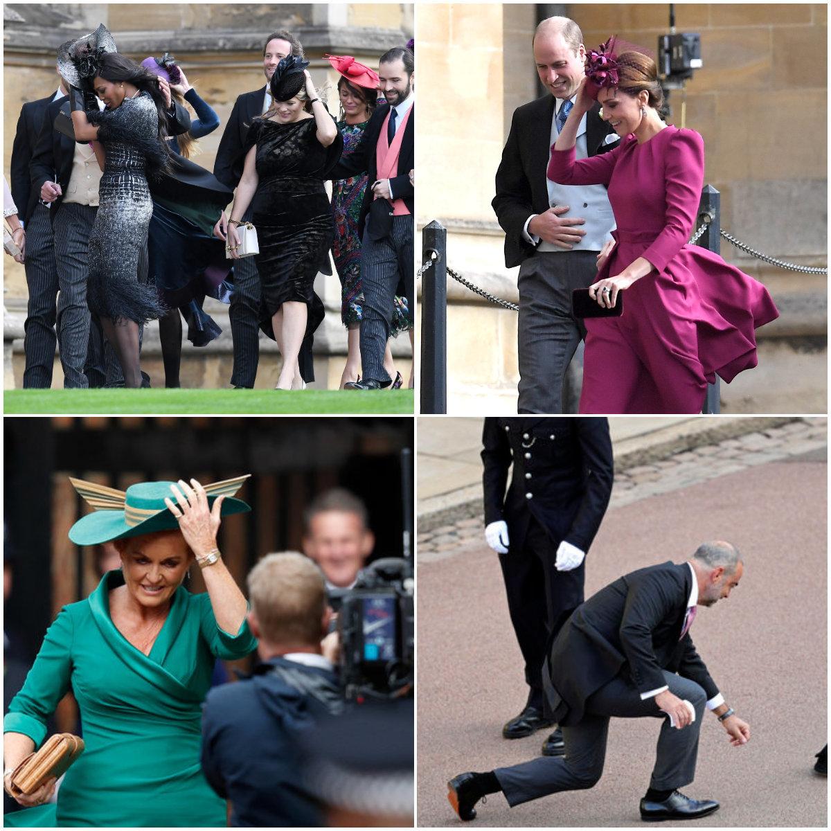 Princess Eugenie And Jack Brooksbank's Wedding Gatecrashed By Storm