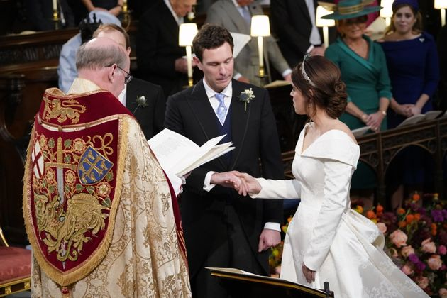 Princess Eugenie and her groom Jack