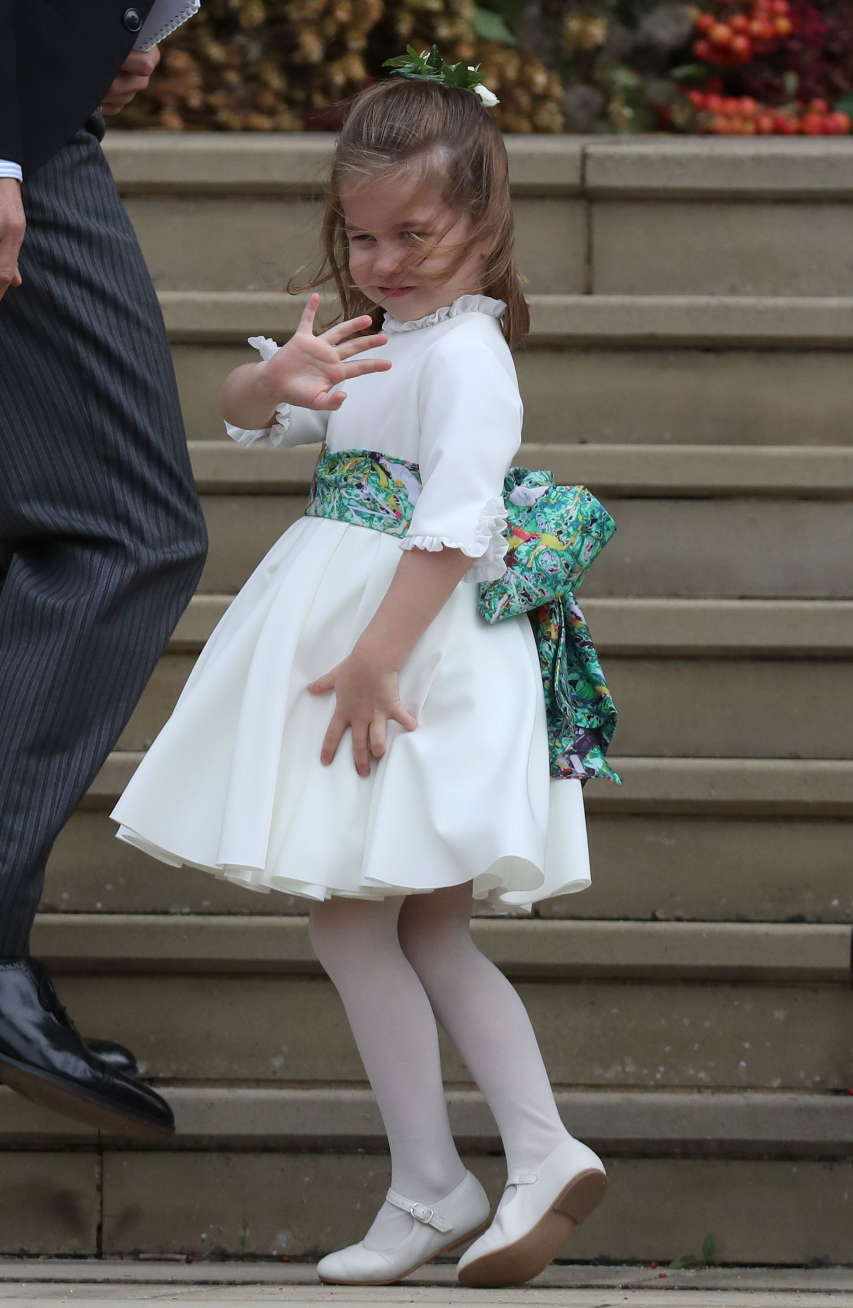 Princess Charlotte Shows Everyone How To Boss The Royal