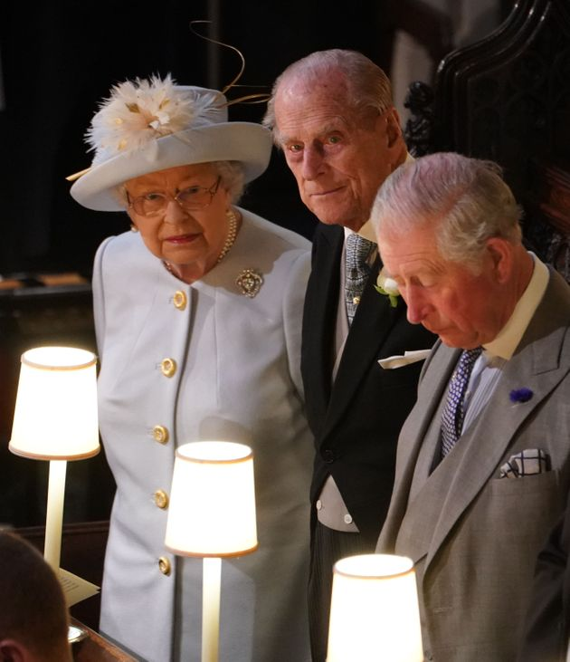 The Queen, the Duke of Edinburgh and Prince