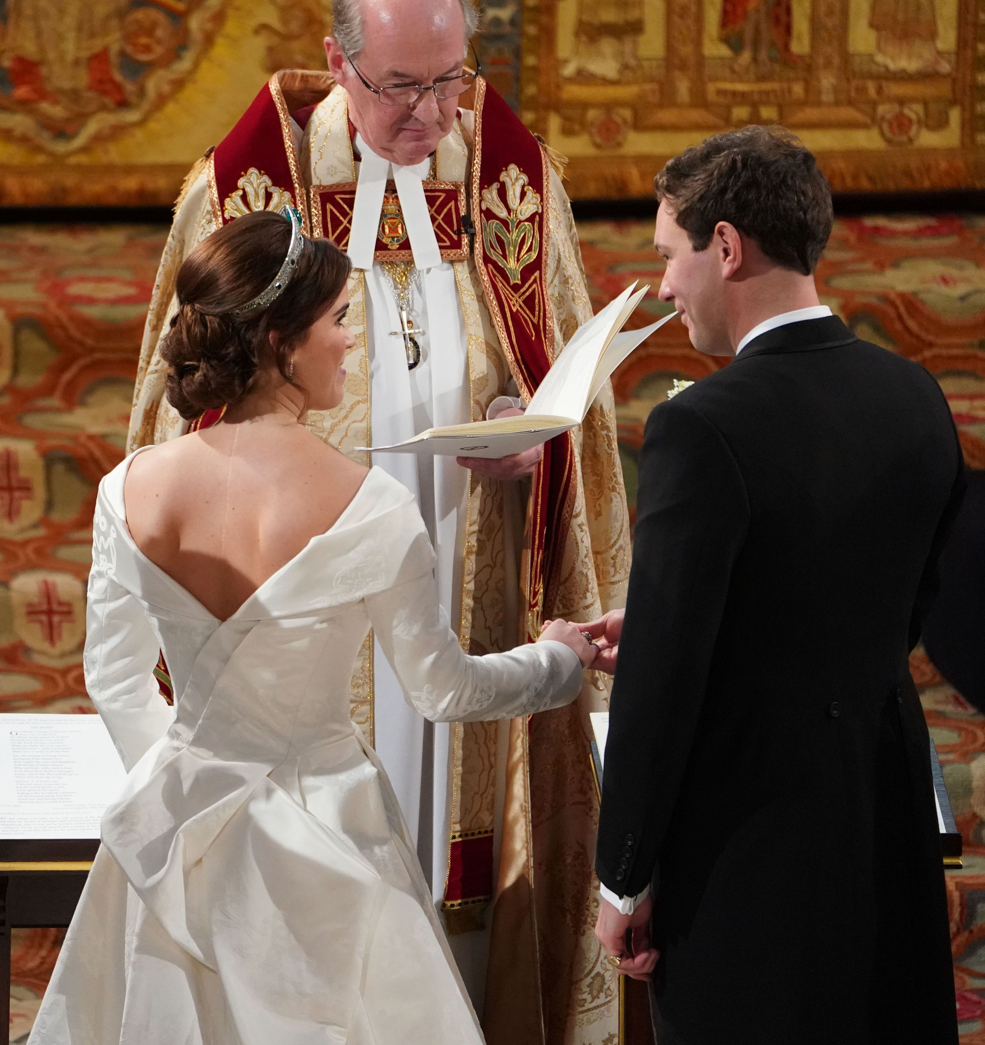 Princess Eugenie Praised For Showing Back Surgery Scar On Wedding