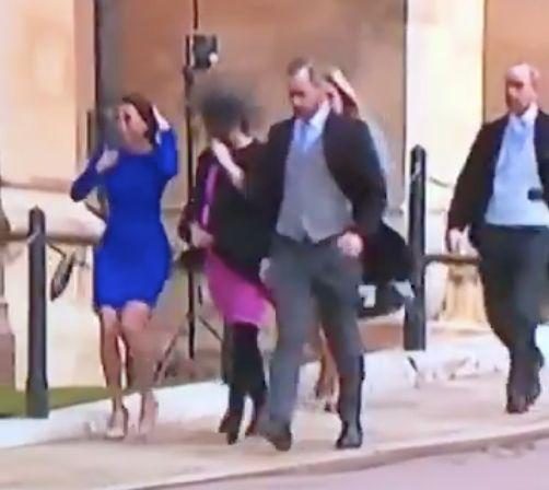 Sturm-Massaker bei Eugenies Hochzeit: Das einzige Video des Events, das ihr heute sehen müsst
