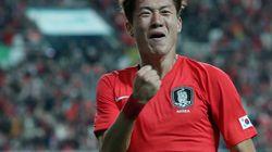 '황의조-정우영' 한국이 우루과이에 역대 첫 승리를