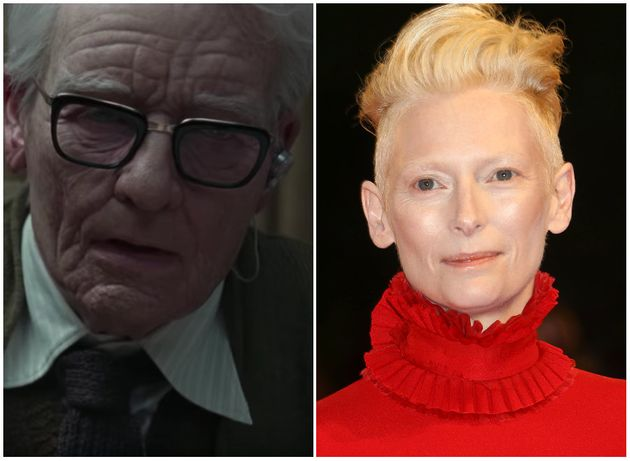 Tilda Swinton Posed As Old Man In 'Suspiria' In Elaborate