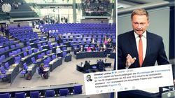 AfD sorgt für Verwirrung im Bundestag –FDP-Chef Lindner reagiert
