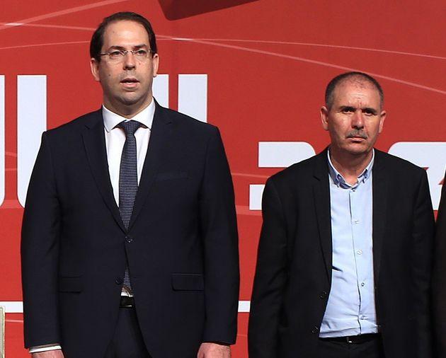 Rencontre entre Youssef Chahed et Noureddine Taboubi: Les concertations se poursuivront pour éviter la...