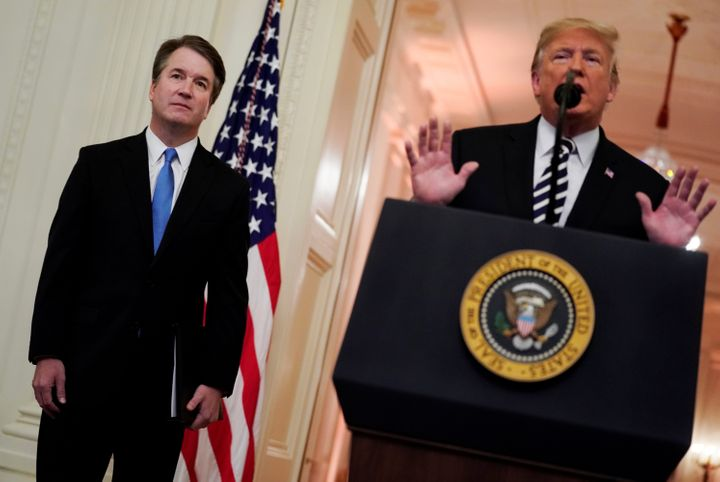 Justice Brent Kavanaugh and President Donald Trump are likely not the last of their conservative, white leadership class.