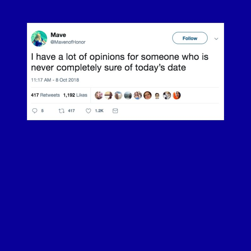 The funniest tweets from women this week.