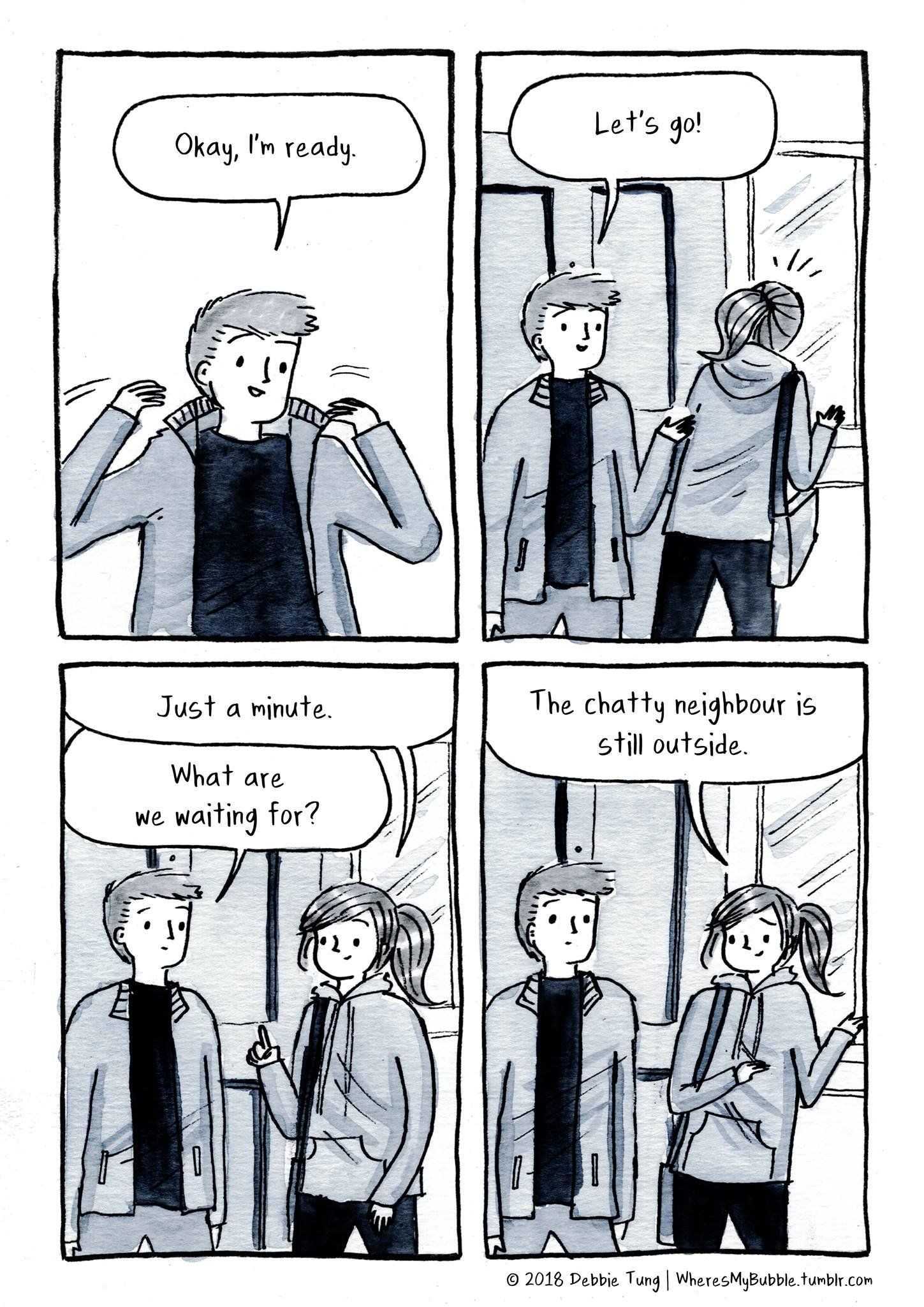 What It's Like To Love An Introvert, As Told In Comics