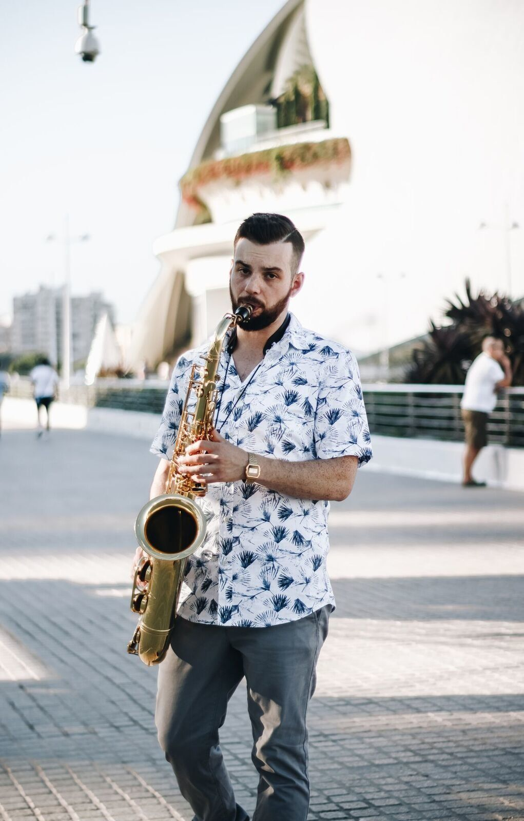"Independent jazz saxophonist Mike Casey has released two live albums, ""The Sound of Surprise"" and ""Stay Surprising."""
