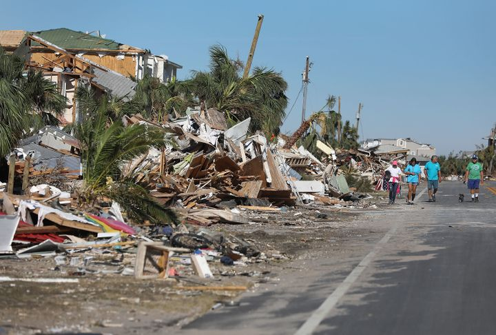 Hurricane Michael made landfall on the Florida Panhandle on Oct. 10 with Category 4 winds, causing major damage and multiple