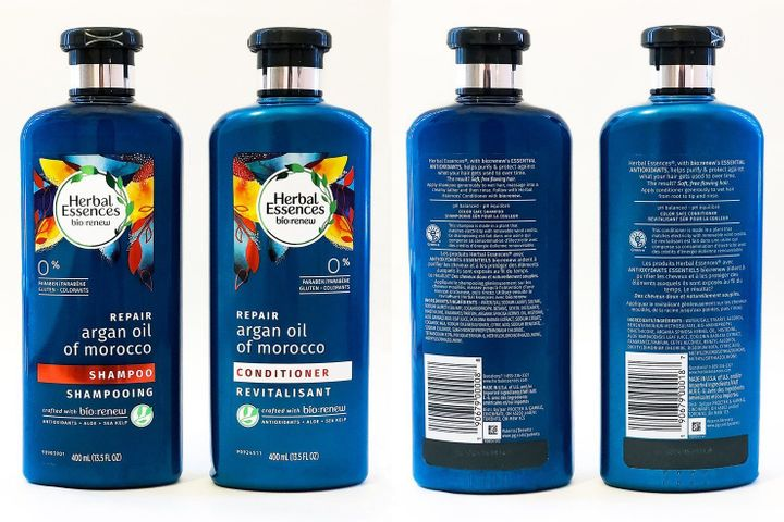 Herbal Essences' Bio:Renew shampoo and conditioner have redesigned its bottles to make them more accessible to people with visual disabilities.