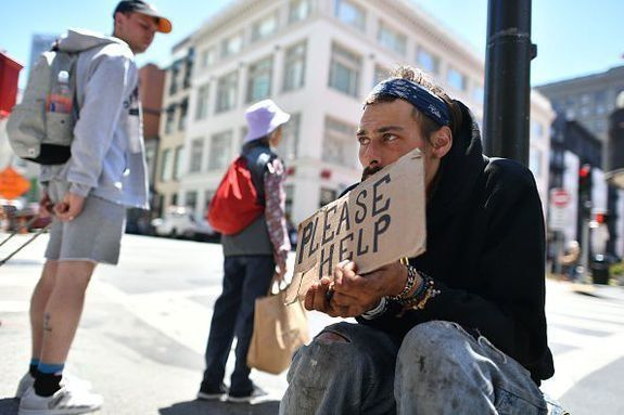 San Francisco is among the 10 U.S. metropolitan areas with the largest homeless populations.