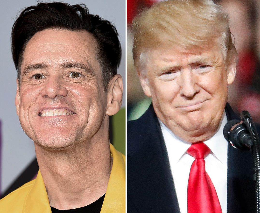 Jim Carrey Taunts 'Demon' Donald Trump With Reworked Poster For 'The