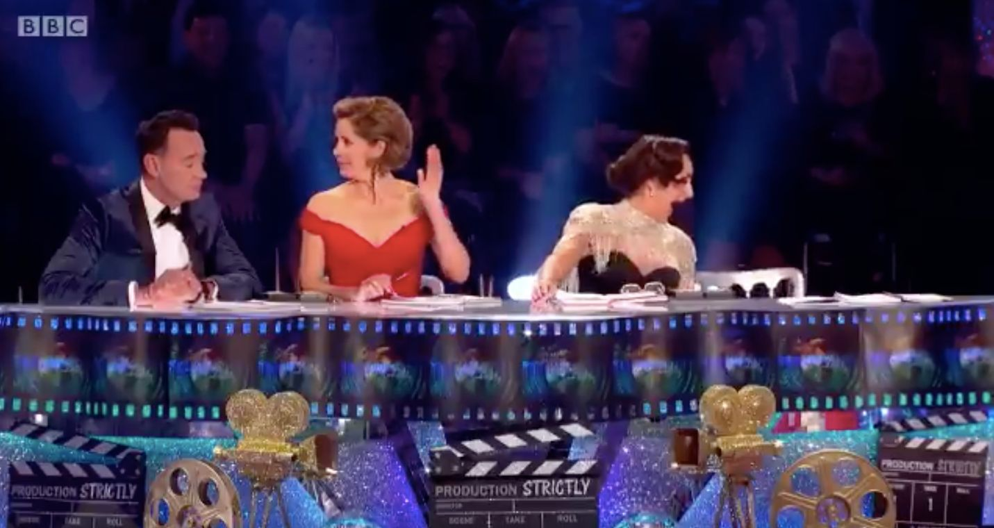 Seann and Katya escape the Strictly axe after 'dance of shame