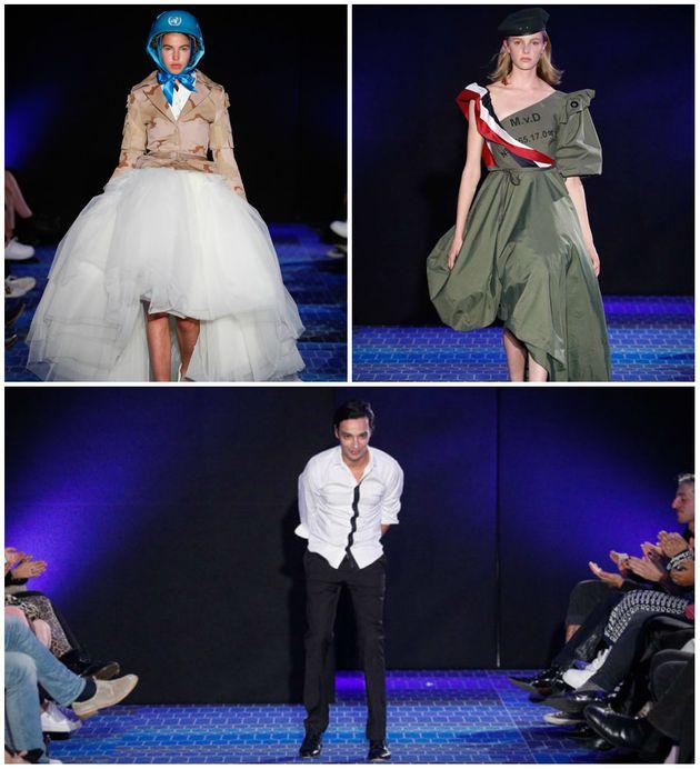 Ce styliste maroco-néerlandais a bousculé la Dutch Sustainable Fashion Week et fait sensation en réutilisant...