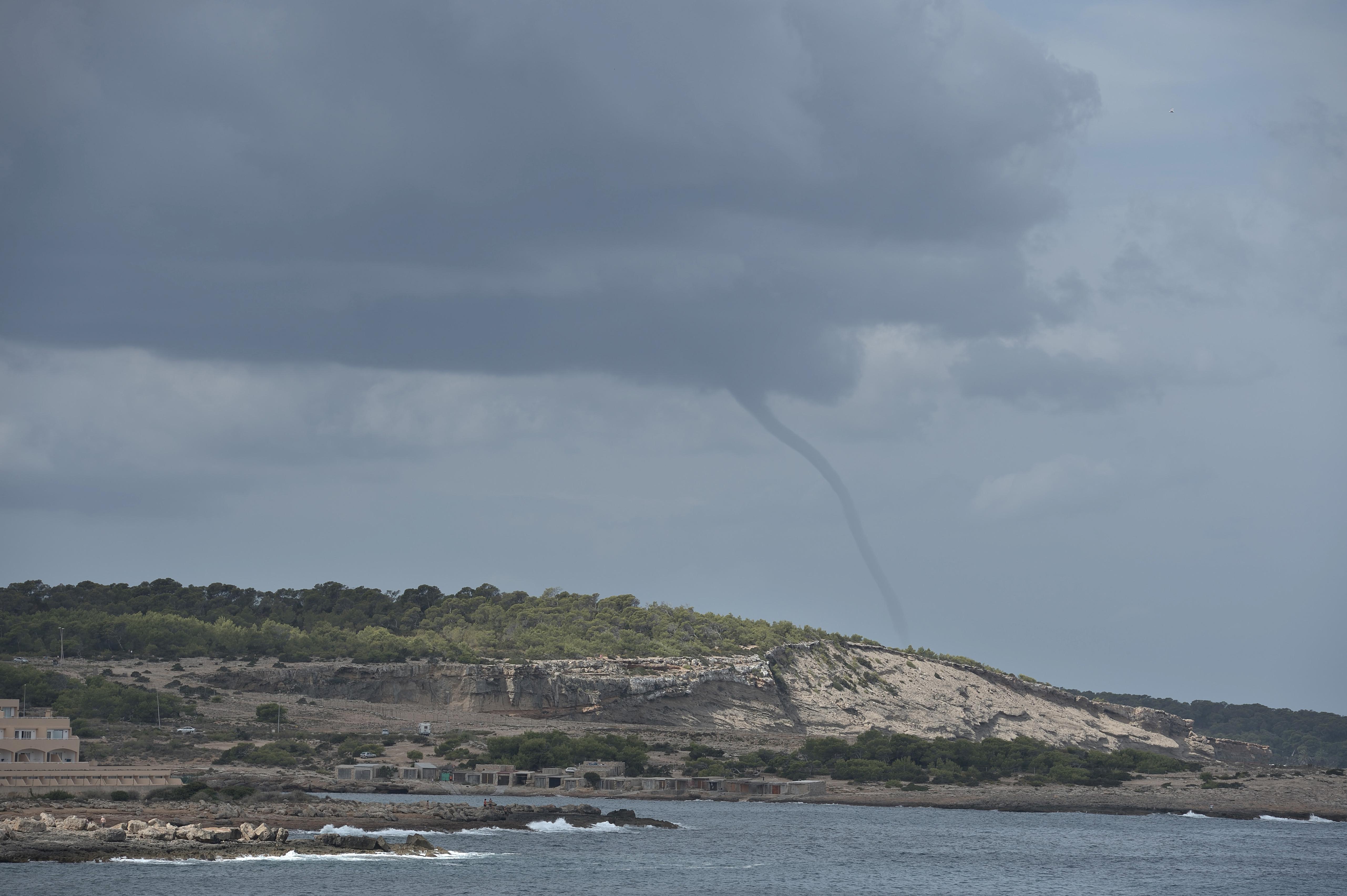 Une tornade aperçue au large de Djerba? Il s'agissait d'une