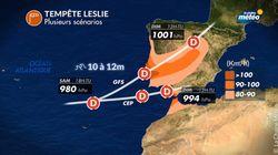 Tout ce qu'il faut savoir sur l'ouragan Leslie qui s'apprête à effleurer le
